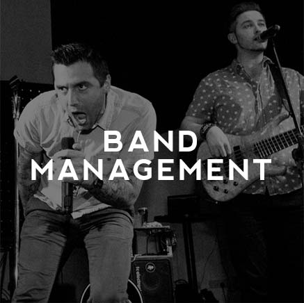 professional band management agency cork